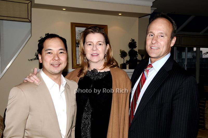 Loy Carlos, Ann Lancombe, Bill Cunningham<br /> photo by Rob Rich © 2010 robwayne1@aol.com 516-676-3939