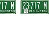 1956 washington plate
