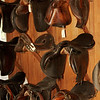 Belle Baruch's Saddles in Stable at Bellefield