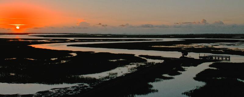 Sunrise over Hobcaw Barony