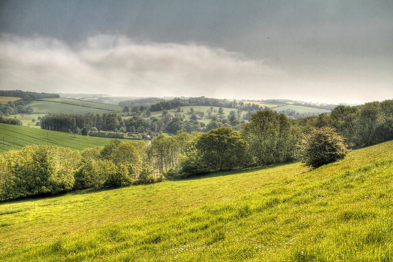 From Hod Hill looking to the South East.