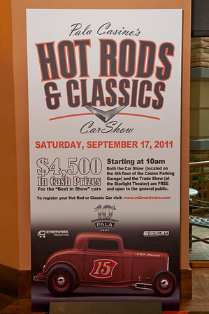 This event is a high profile auto event featuring $4,500 in cash prizes for the top three show cars chosen at the end of the weekend. This is a weekend event held at the beautiful Pala Casino and Resort in Pala, CA. During the car show you can head down t