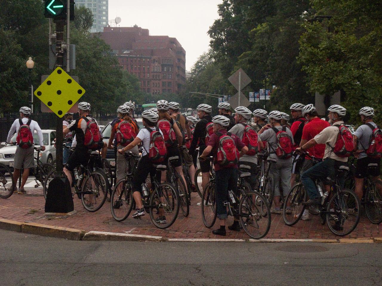 Boston bicycle tour