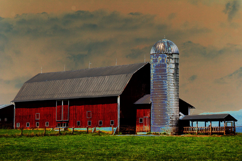 Solarized Barn