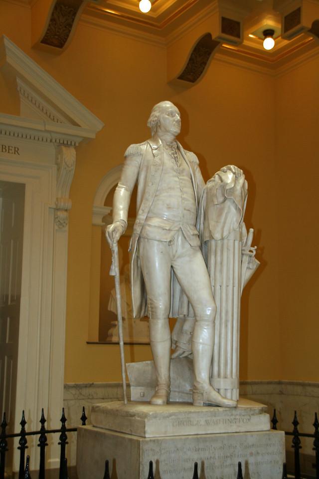 George Washington statute in Virginia State Capitol