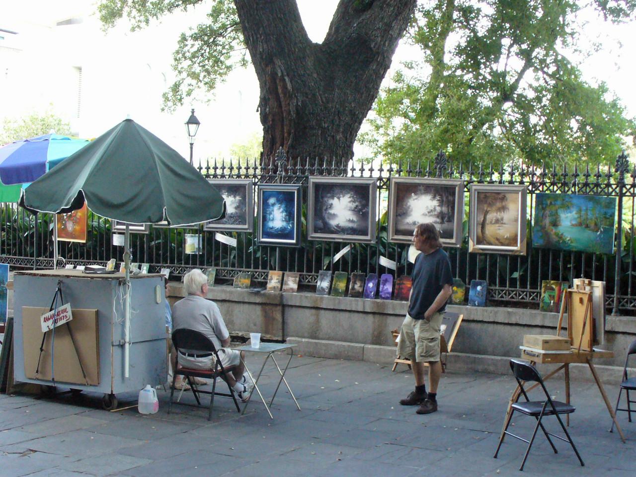 New Orleans Open Air Art