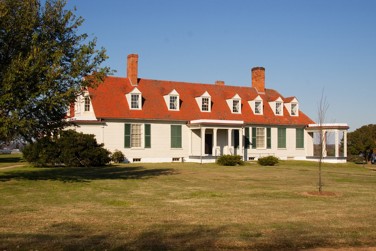 Epps Plantation at City Point in Hopewell.  Grant spent 10 months on this property during the Battle of Petersburg and the siege of Richmond.