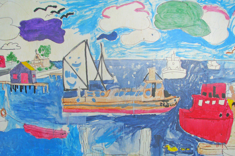 Solomon's Island interpreted by a young person