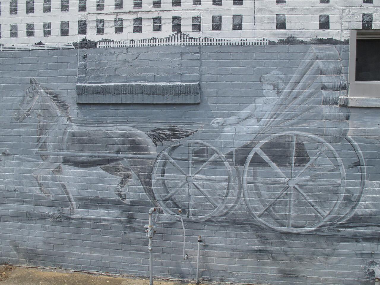 Wall mural in Prattville, Ala.