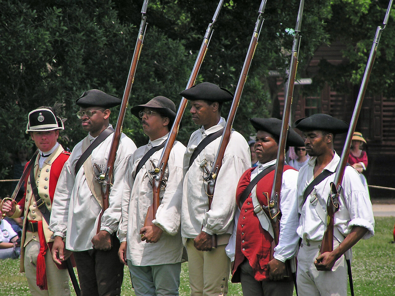 Colonial Re-enactment