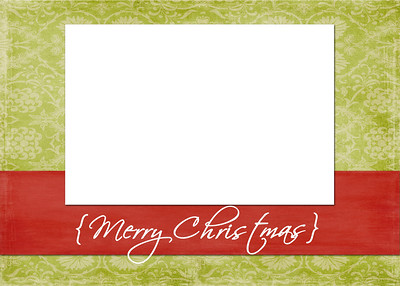 X-Mas Card Layout 7