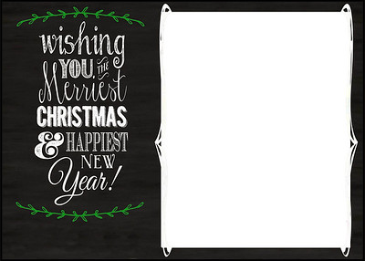 X-Mas Card Layout 1