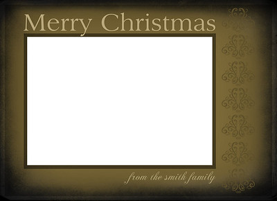 X-Mas Card Layout 4