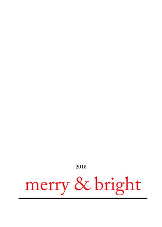merry and bright red