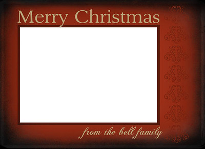 X-Mas Card Layout 6