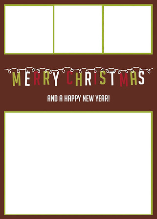 X-Mas Card Layout 9