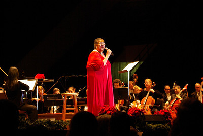 Leesburg Photo ....  The  Roanoke Symphony's Holiday POPS with Jane Powell ,   Salem Civic Center
