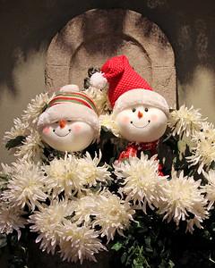 Holiday cheer at Hicks Nursery.