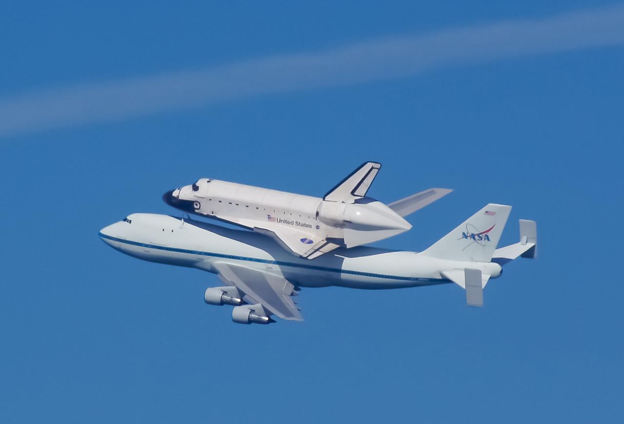 Endeavor's last flight