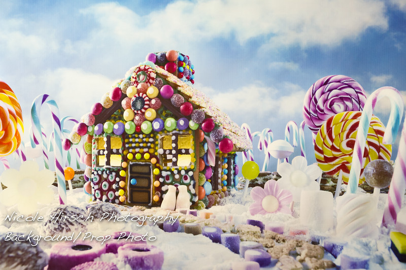Candy Land Background 1