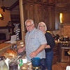 Grammy and Grampy cooking in the kitchen ;)
