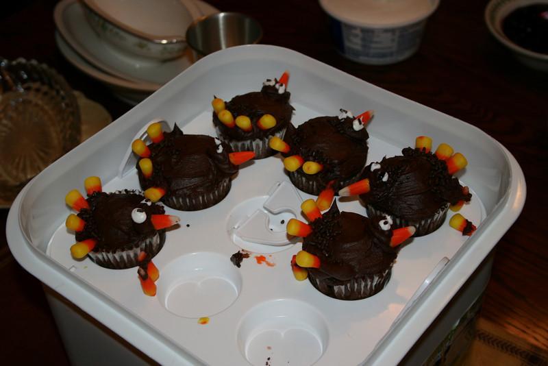 Turkey bird cupcakes... loved them !! :)
