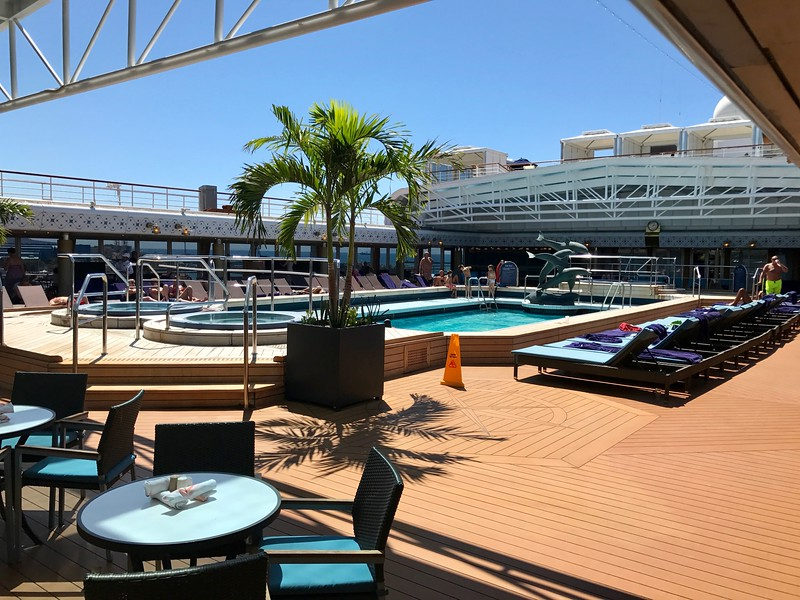 Holland America Westerdam - Pool Deck