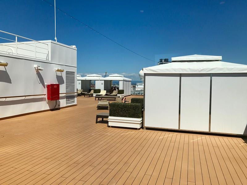 Holland America Westerdam - The Retreat Cabanas