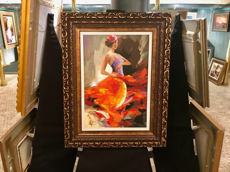 Holland America Westerdam - Art Auctions