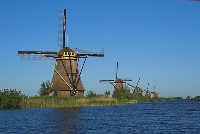 Windmills at the Kinderdijk World Heritage site