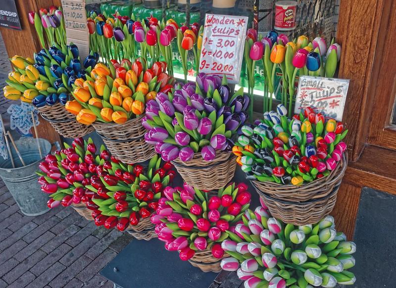 Wooden Tulips!