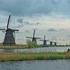 Windmils at Kinderdijk