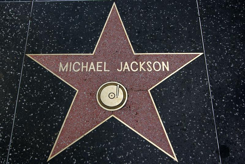 Michael Jackson Recording Star