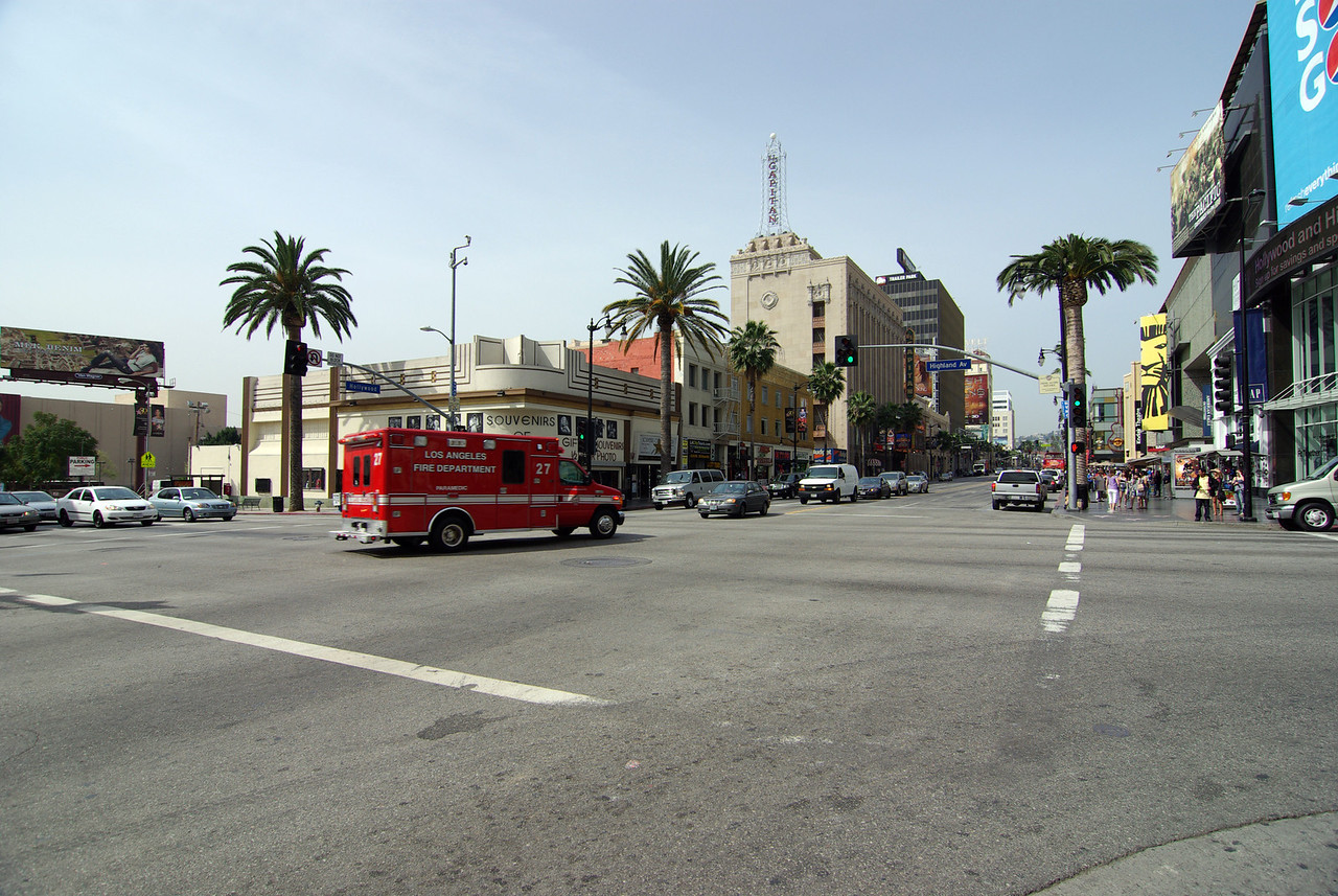Looking down Hollywood Blvd (2)