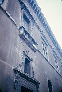 Mussolini's balcony