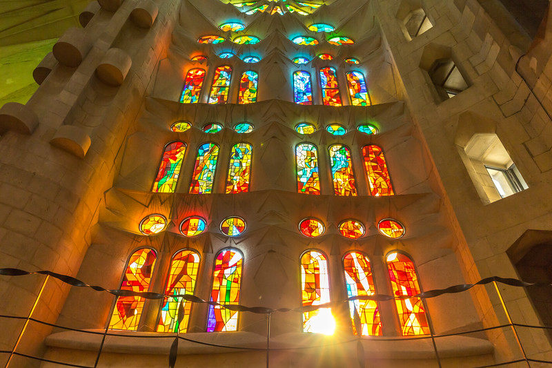 Sagrada Familia, Barcelona, Spain, 2017