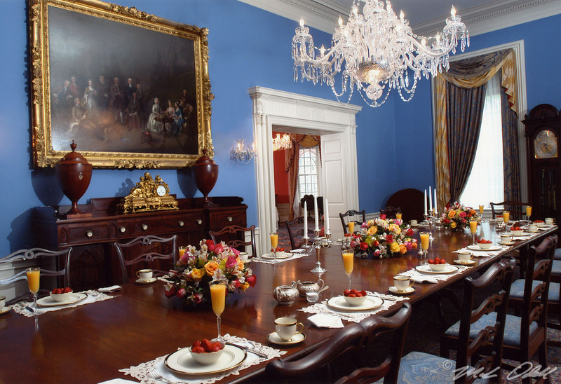 Governors Mansion Dining