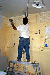 Day 4 - Repair drywall