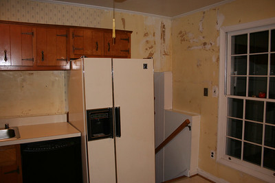 Old kitchen.