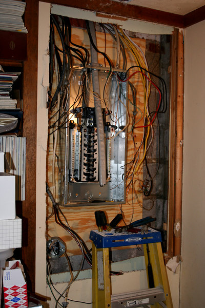 Remove fuse box and add braker box.  Increse capacity from 125 amps to 200