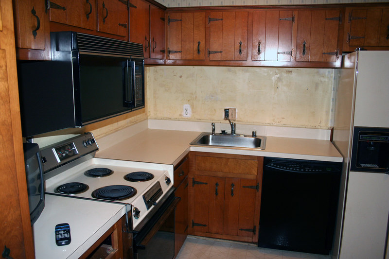 Old Kitchen on the eve of construction start.