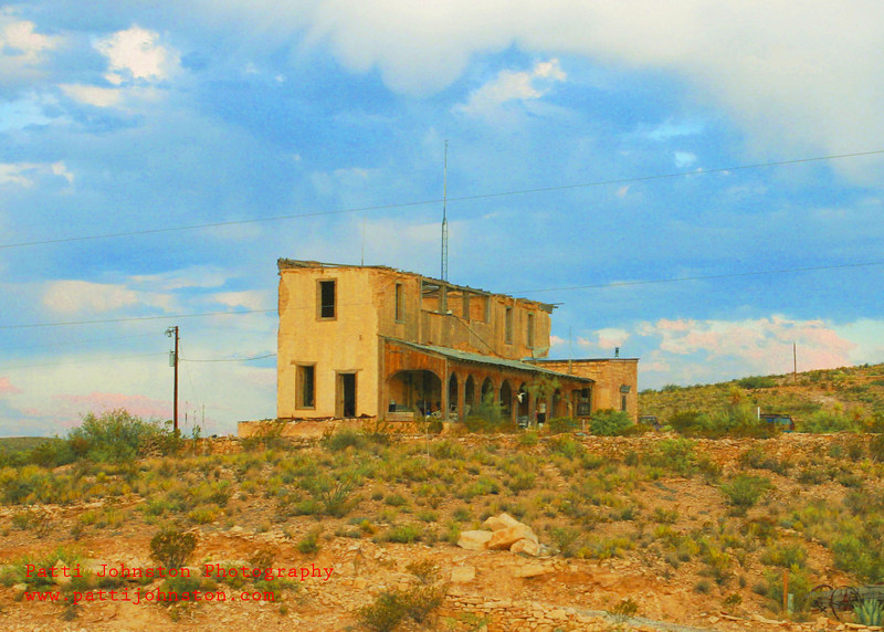 historical building terlingua