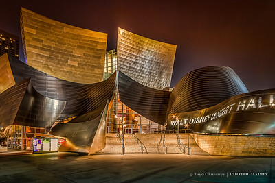 Walt Disney Concert Hall, Los Angeles, CA