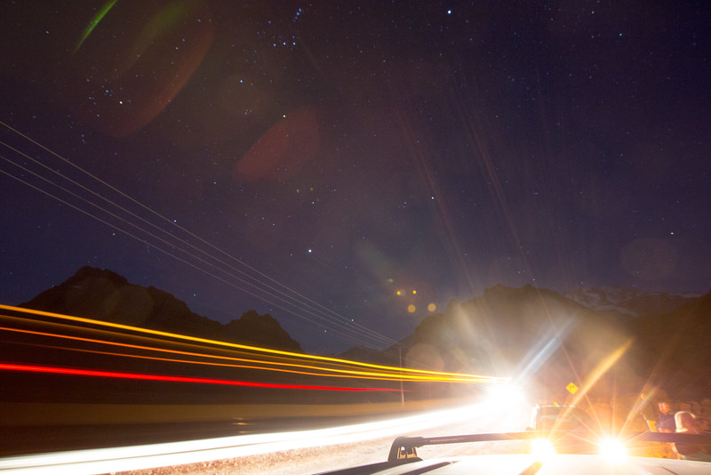 Star Light and Truck Lights