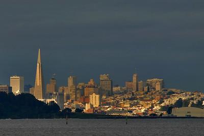 Soft Sunlit San Francisco