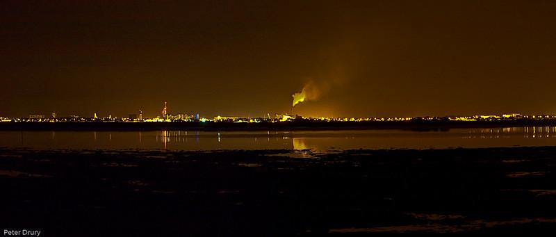 Portsmouth across Langstone Harbour