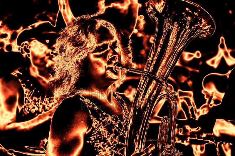 Molten Brass, Oregon Country Fair 2009