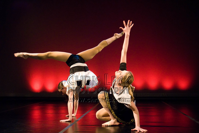 Alison Camp and Shelly Misevch (Agnieszka Laska Dancers)