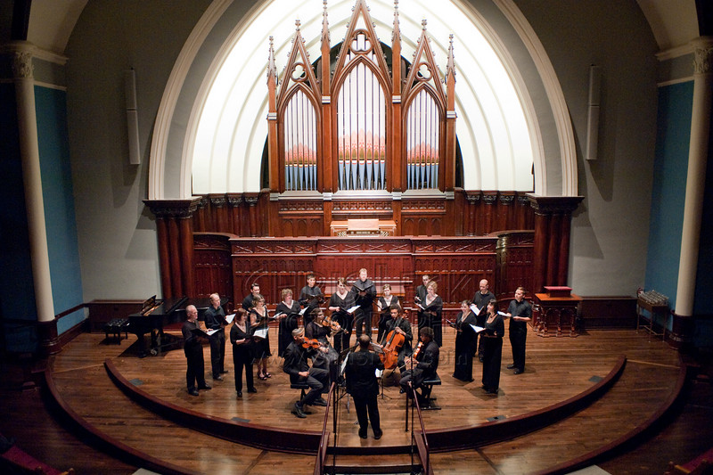 Portland Vocal Consort and the Dickson String Quartet