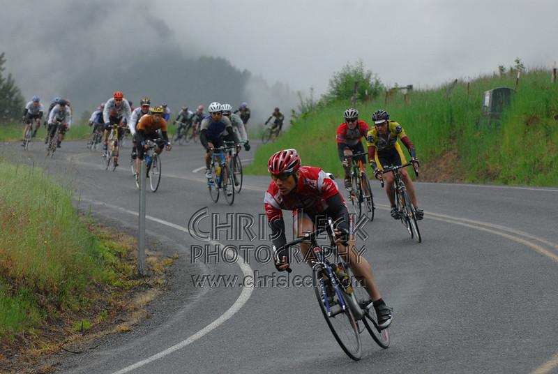 Cooper Spur Circuit Race, Mt. Hood Cycling Classic, 2006